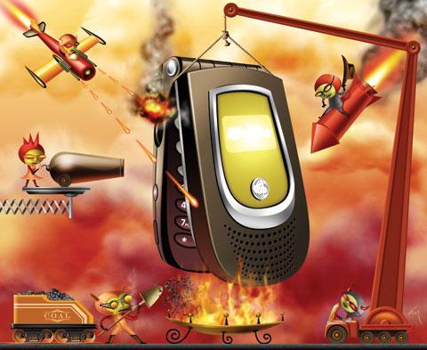 Atacar los teléfonos móviles