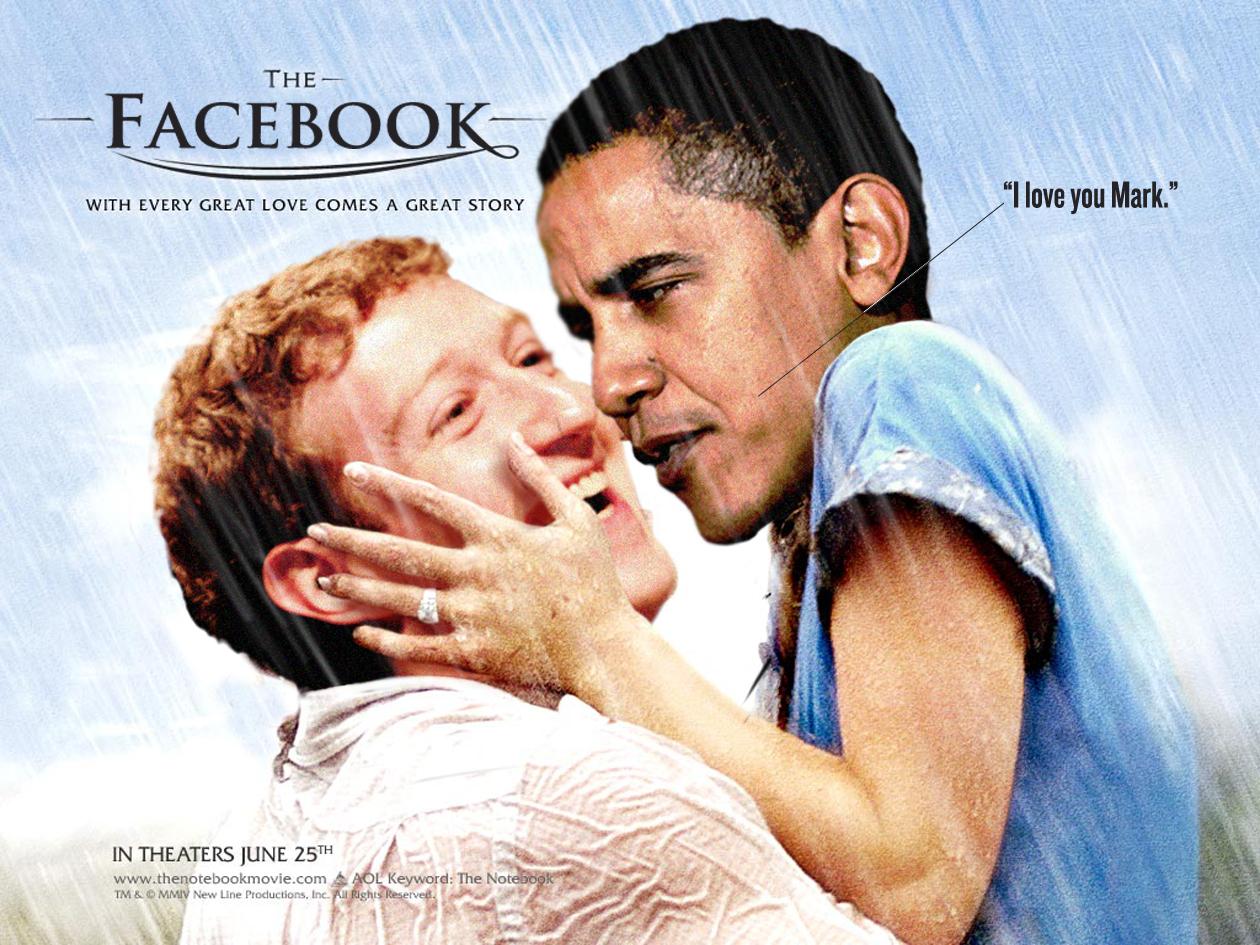Obama y Facebook