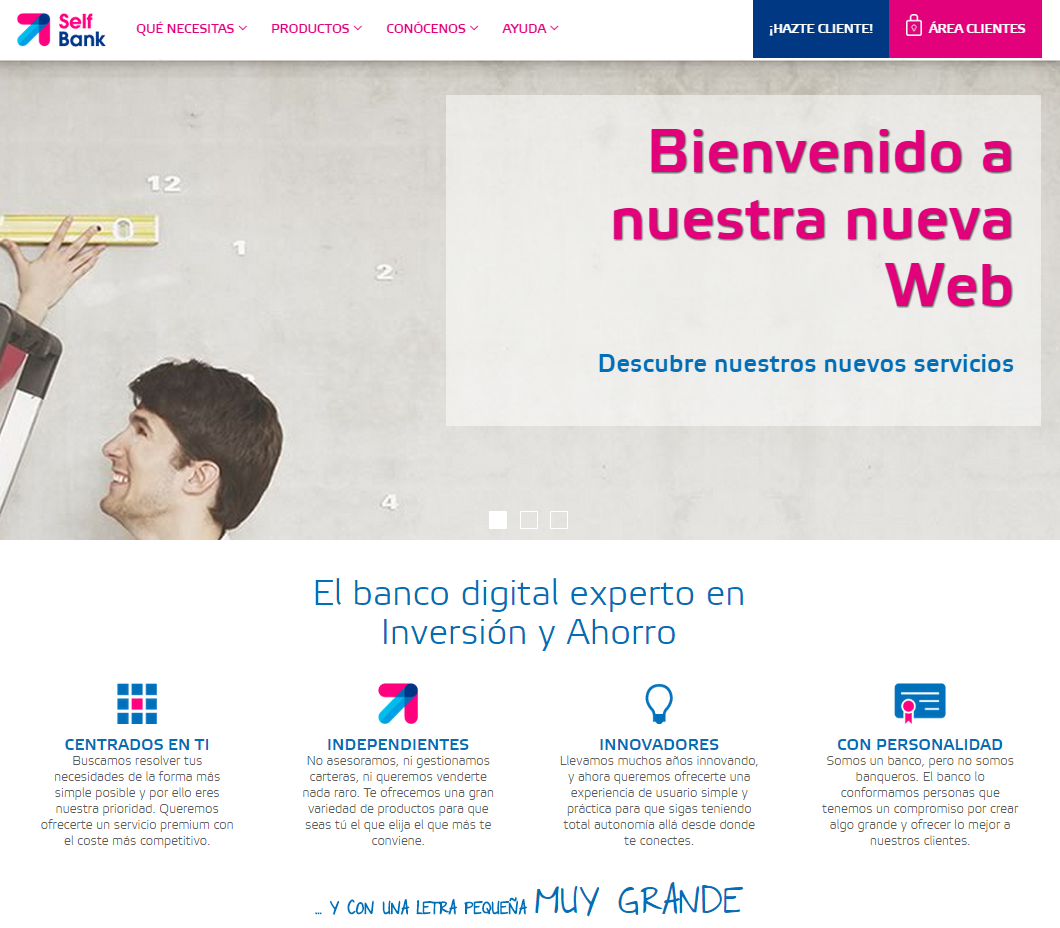 Self Bank, un caso de marketing customer-centric
